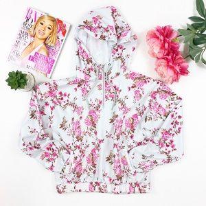 forever 21 • lightweight floral jacket